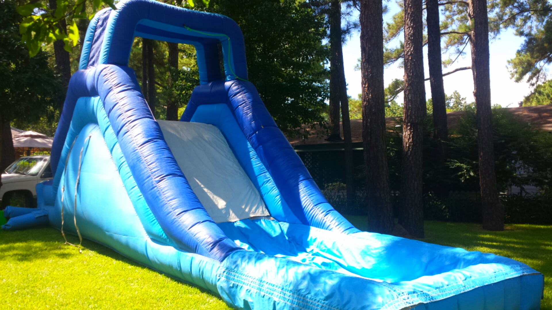 new waterslide backyard bounce inflatables u2013 call us today at